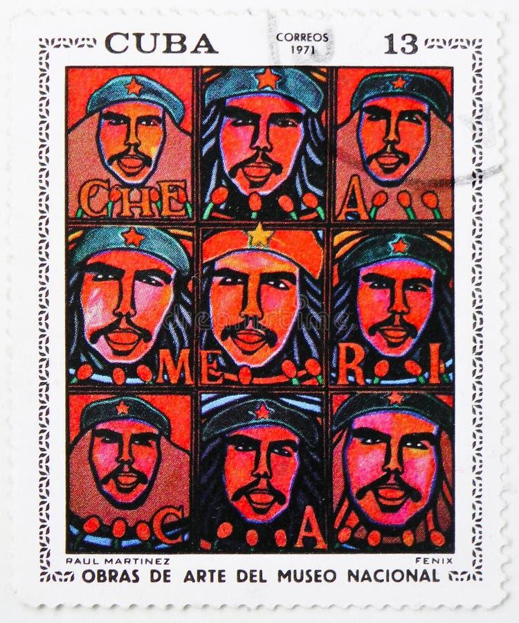 芬尼克斯,拉乌尔角马丁内斯,从国家博物馆(1971) serie的绘画,大约1971年 免版税库存图片