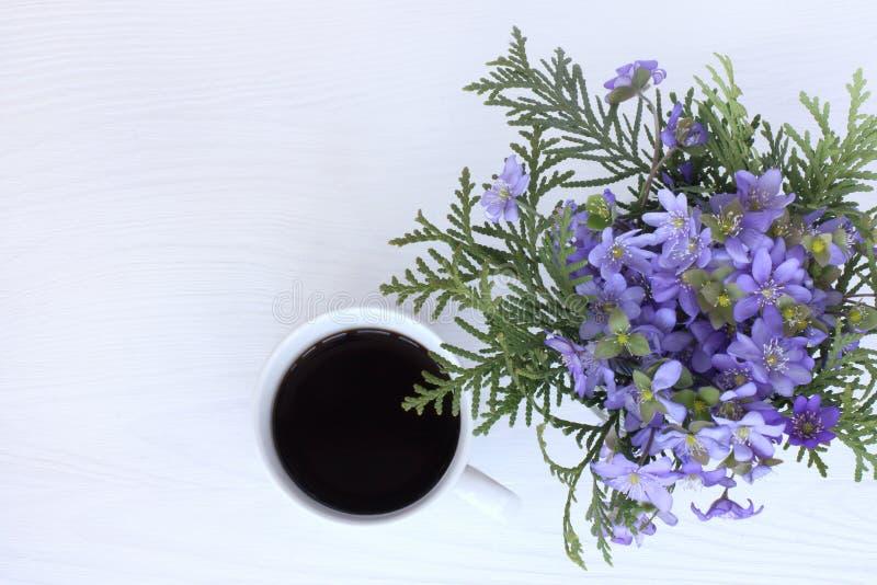 芬芳咖啡休息 免版税库存照片