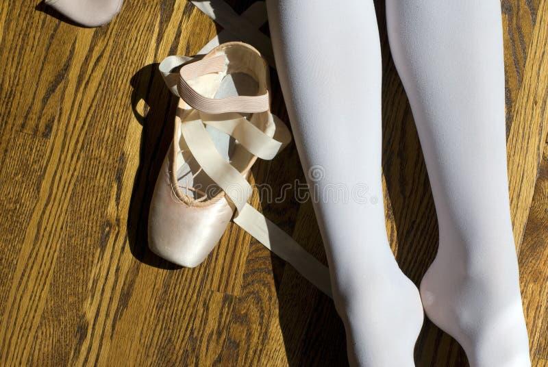 芭蕾中断 库存图片