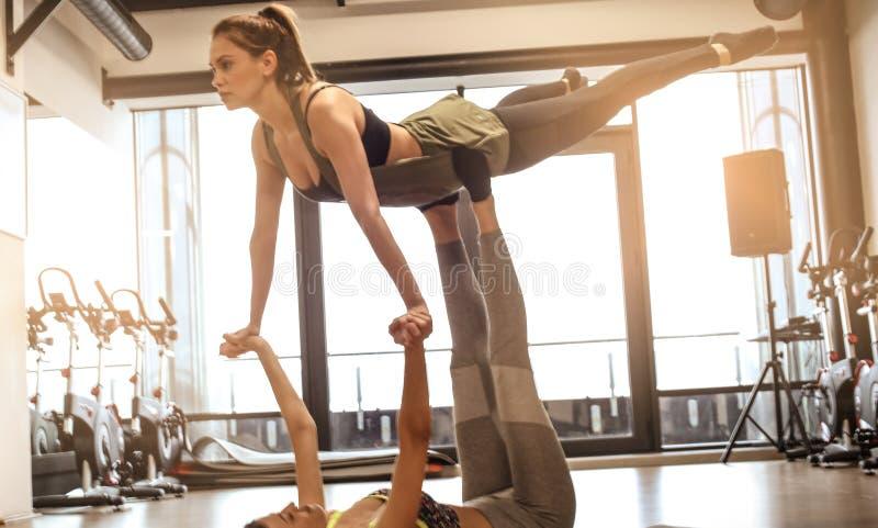 芭蕾作为平衡 免版税图库摄影