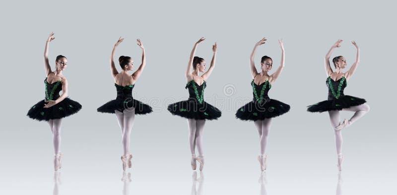 芭蕾完美 免版税图库摄影