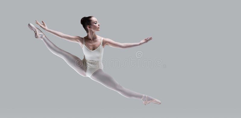 芭蕾完美 免版税库存照片