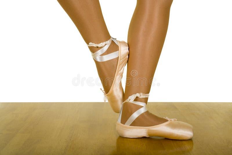 芭蕾摆在锻炼 库存图片