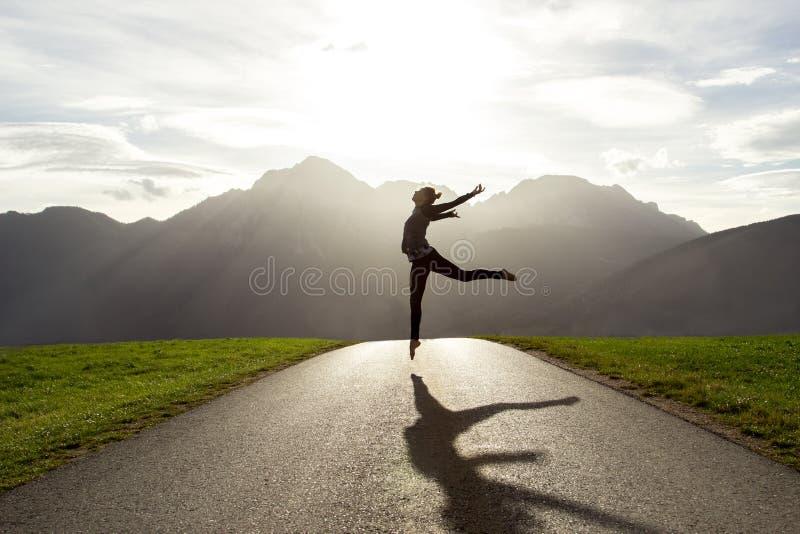 芭蕾是生活方式 免版税库存图片