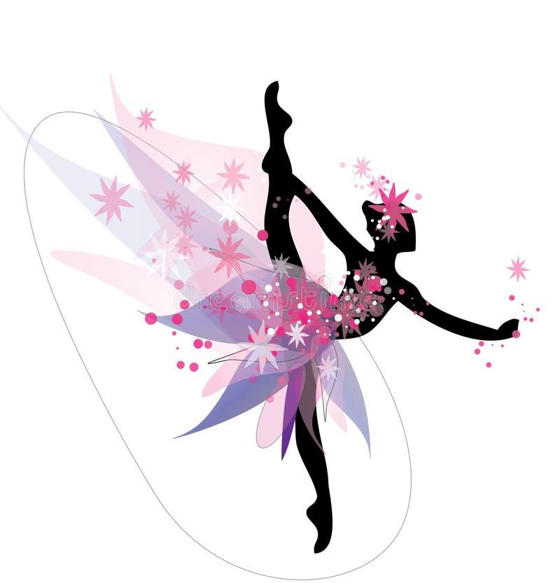 Download 芭蕾样式的跳舞妇女 向量例证. 插画 包括有 装饰, 五颜六色, 投反对票, 图标, 图画, 理想, 概念 - 72371357