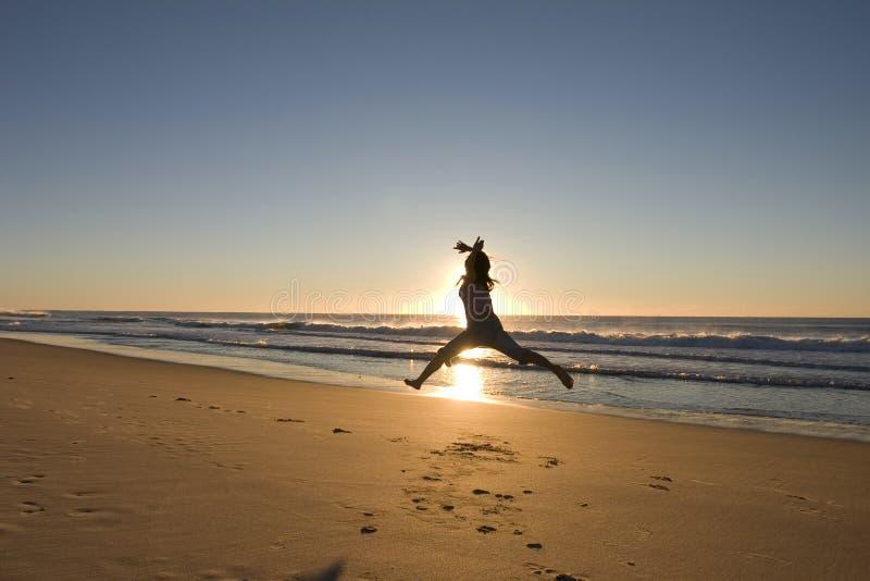 芭蕾海滩 免版税库存照片