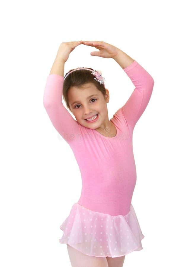 芭蕾舞女演员一点 库存照片