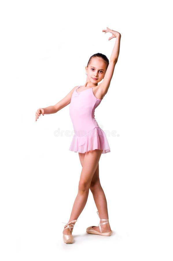 芭蕾舞女演员女孩一点 库存照片