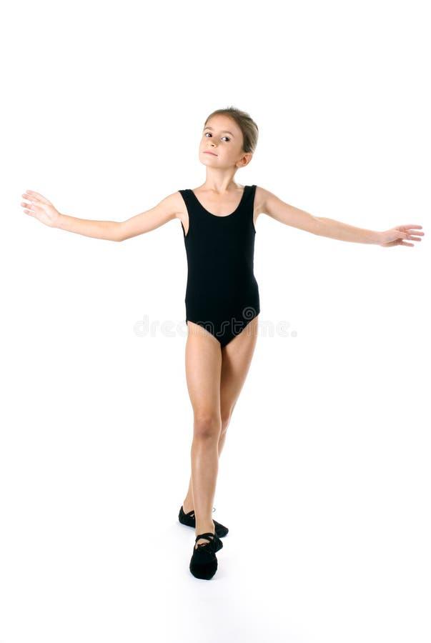 芭蕾舞女演员女孩一点 免版税库存照片