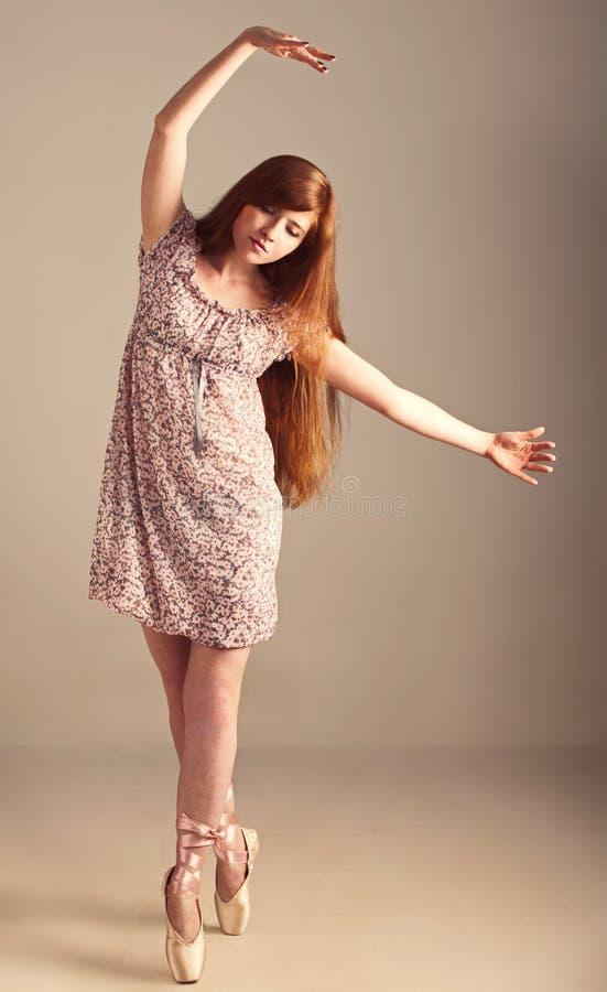 芭蕾舞女演员女孩想象 库存照片