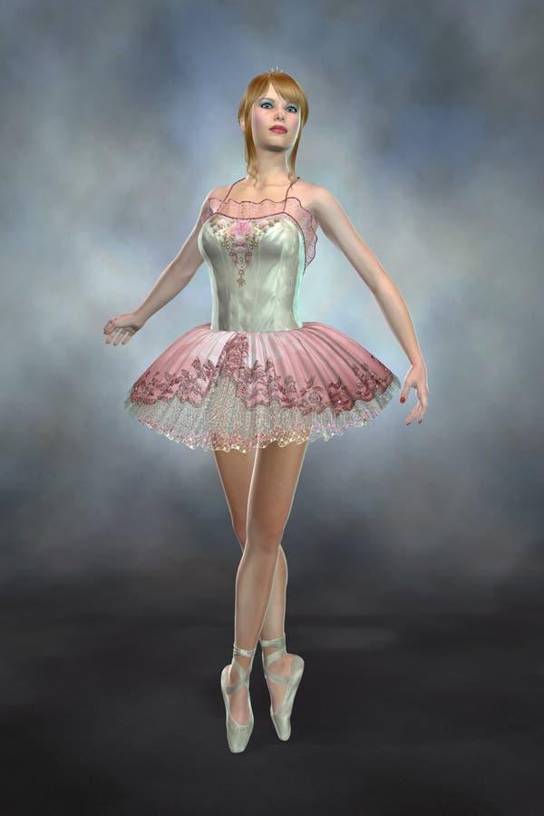 芭蕾舞女演员跳舞脚趾 库存图片