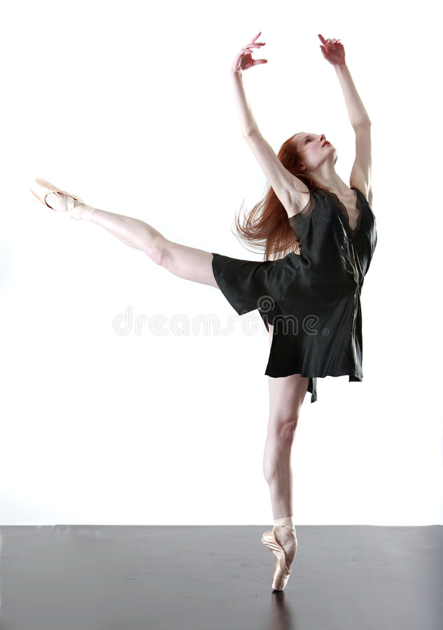 芭蕾舞女演员 免版税库存照片