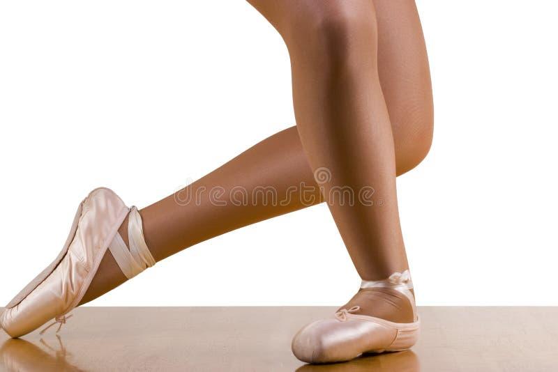 芭蕾重创的尊敬锻炼 免版税库存图片