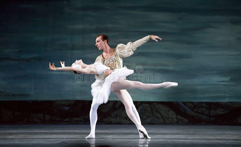 芭蕾perfome皇家俄国天鹅 图库摄影