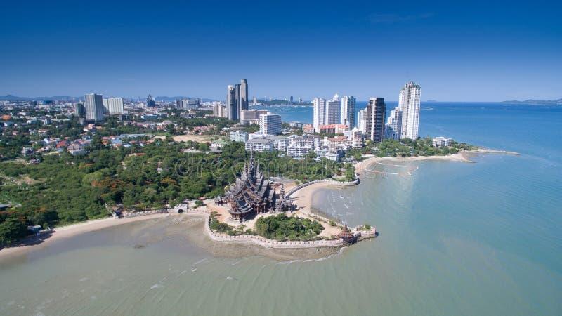 芭达亚海滩 免版税库存图片