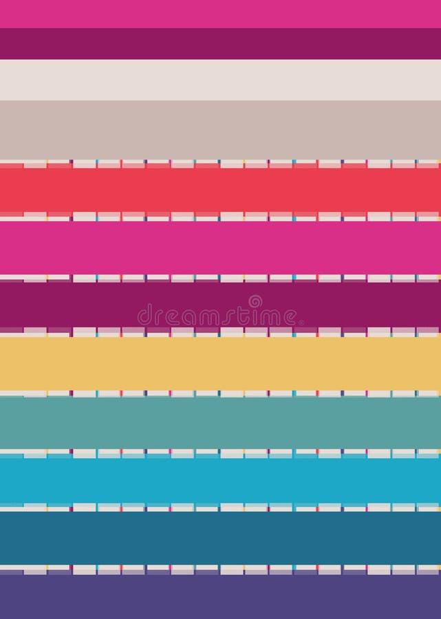 花例证样式在简单的背景中 免版税图库摄影