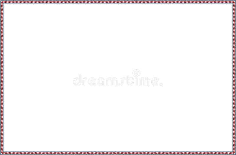 花例证样式在简单的背景中 免版税库存照片