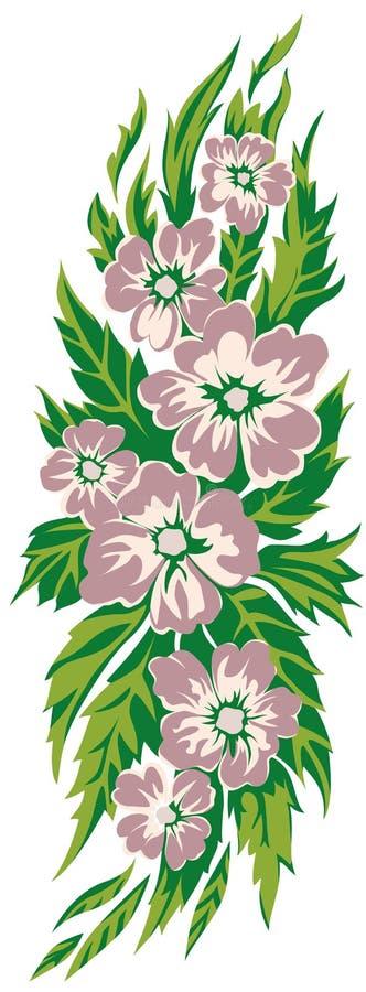 花卉动机001 免版税图库摄影