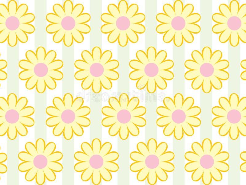 花卉墙纸 库存例证