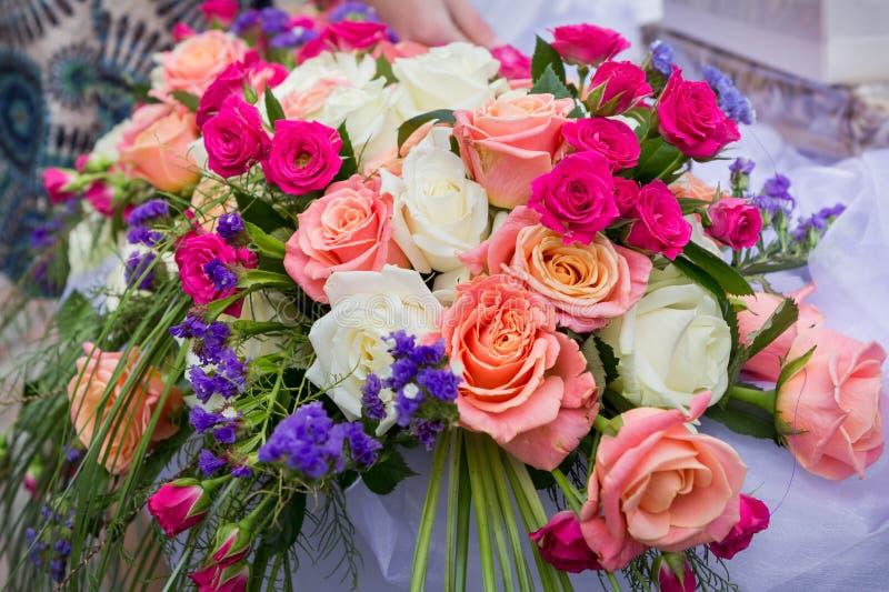 花卉婚礼装饰 免版税库存图片