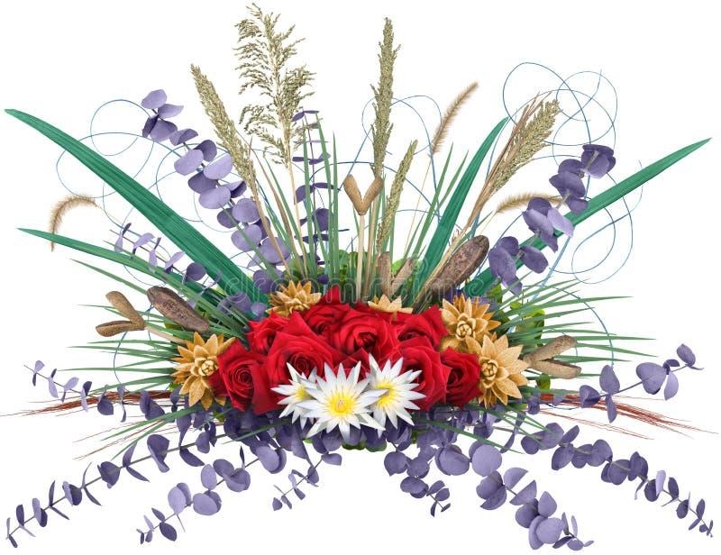 花卉展开 库存照片