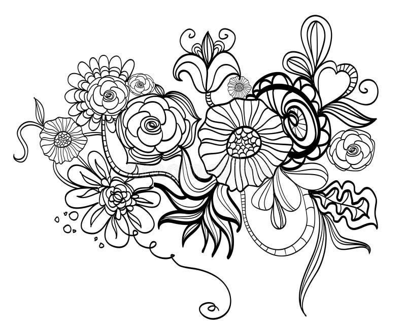 Download 花卉抽象背景 库存例证. 插画 包括有 背包, 乱画, 查出, 空白, 装饰, 设计, 抽象, 例证, 国界的 - 12596853