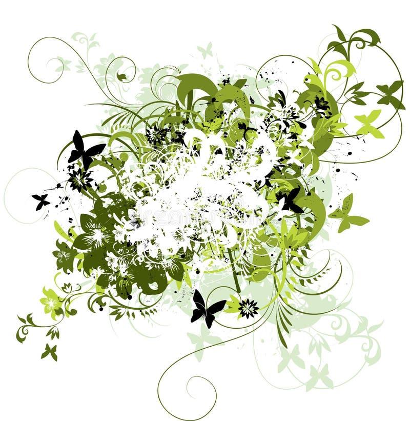 Download 花卉抽象背景 向量例证. 插画 包括有 滚动, 复兴, 国界的, 装饰, 漩涡, 剪影, 工厂, 华丽, 要素 - 15683609