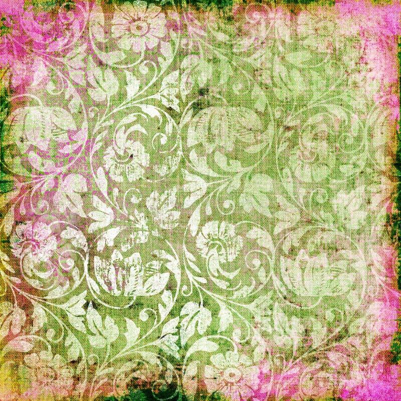 花卉抽象 库存例证