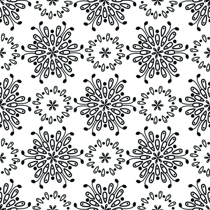 Download 花卉无缝的样式摘要 向量例证. 插画 包括有 模式, 花卉, 季节, 装饰, 抽象, 东方, 华丽, 图象 - 62538579