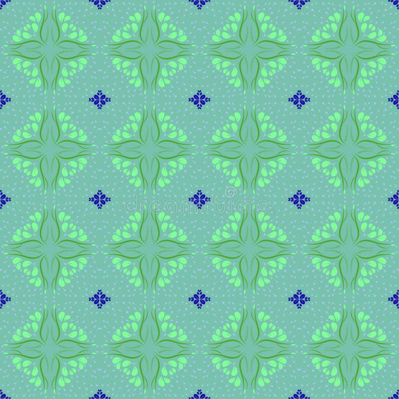 花卉无缝的样式背景;编辑可能的颜色背景 库存照片