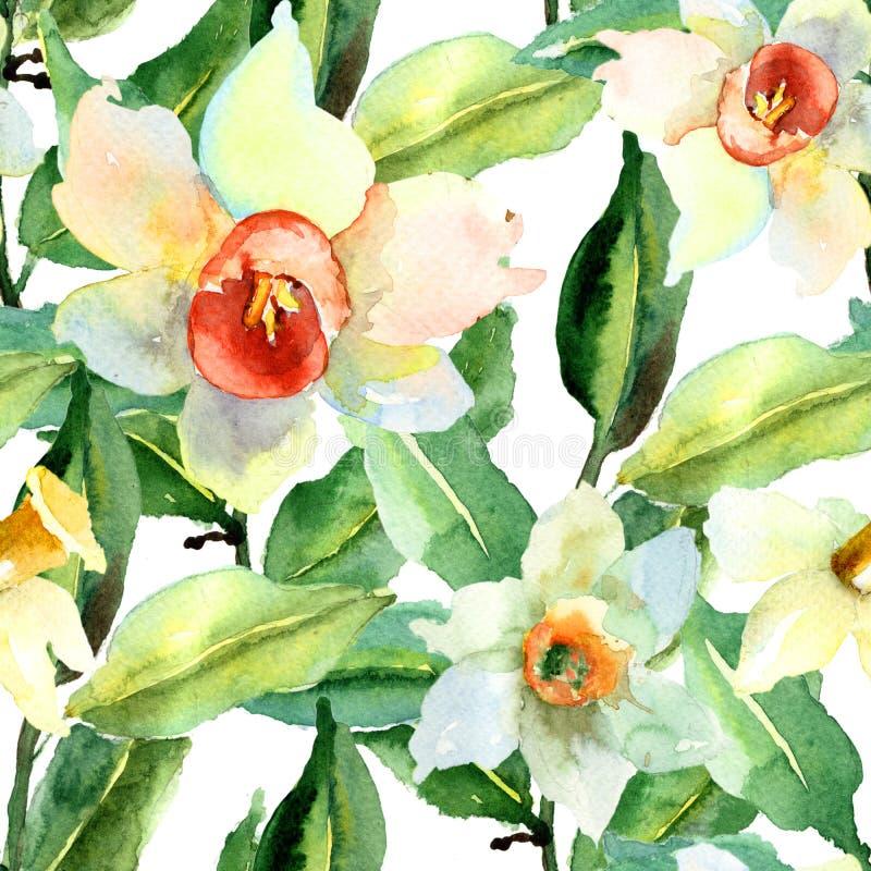 花卉无缝的样式 向量例证