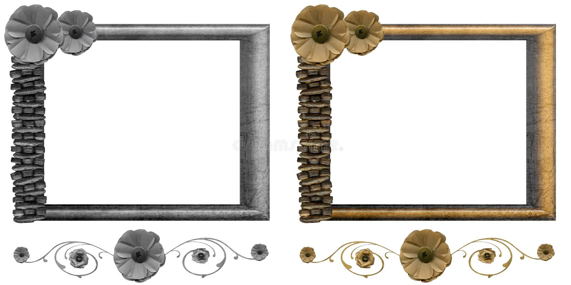 Download 花卉框架集 库存例证. 插画 包括有 纹理, 花卉, 框架, 收集, 华丽, 查出 - 22351398