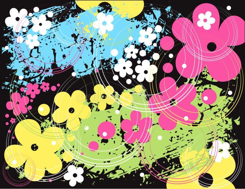 花卉模式向量 向量例证