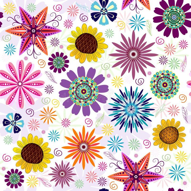 Download 花卉模式无缝的白色 向量例证. 插画 包括有 横穿, 红色, 模式, 手工, 雕刻, 橙色, lilas - 15676230