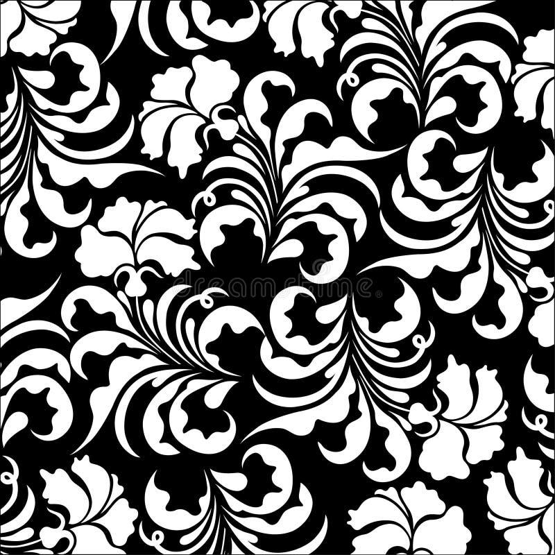 花卉模式vectoe 库存例证