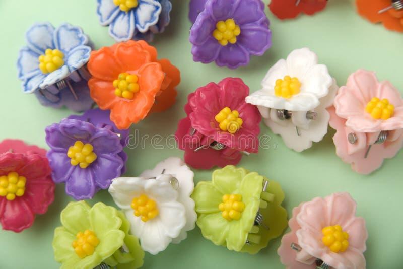 花卉簪子 免版税图库摄影