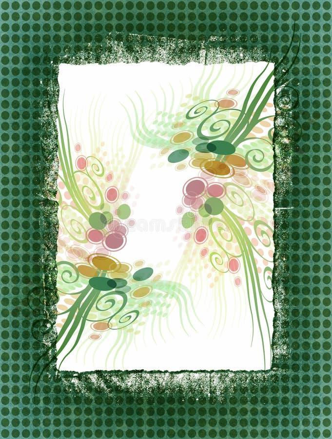 花卉纸张 免版税图库摄影
