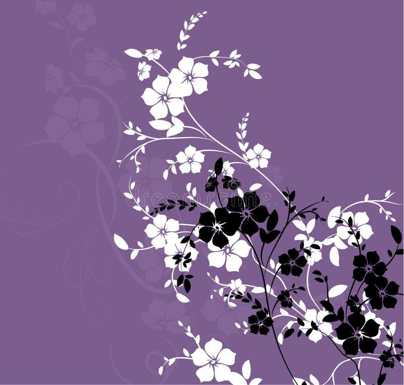 花卉纹理 皇族释放例证