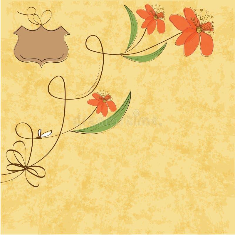 Download 花卉背景 库存例证. 插画 包括有 精美, 逗人喜爱, 消息, 附注, 看板卡, 设计, 艺术, 象征, 例证 - 22350013