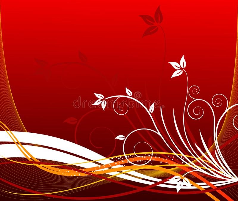 花卉艺术性的设计背景 图库摄影