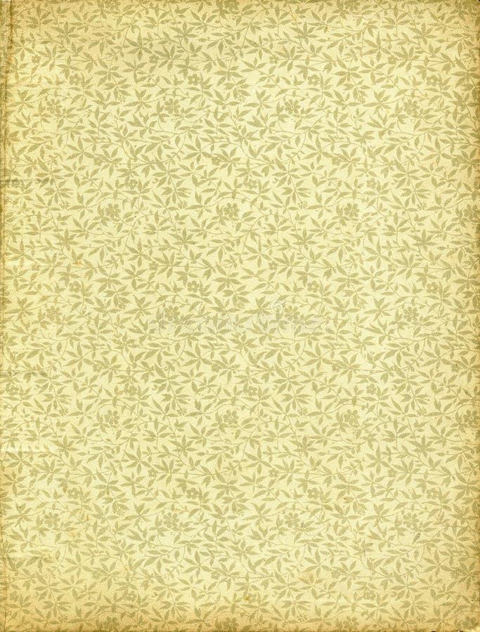 花卉葡萄酒墙纸 免版税图库摄影