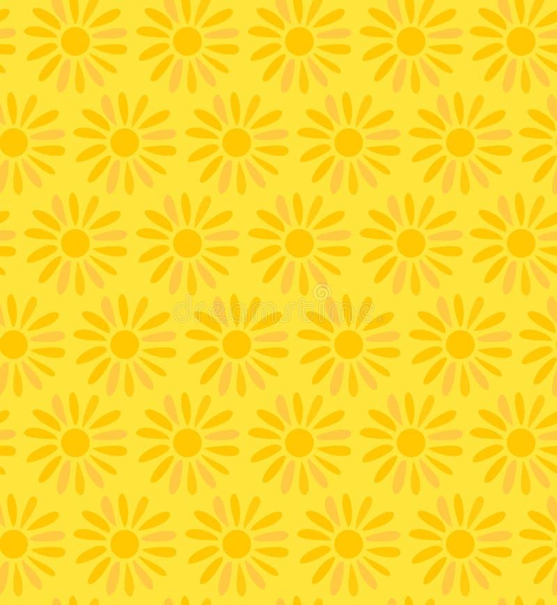 花卉装饰无缝的纹理背景机智 皇族释放例证