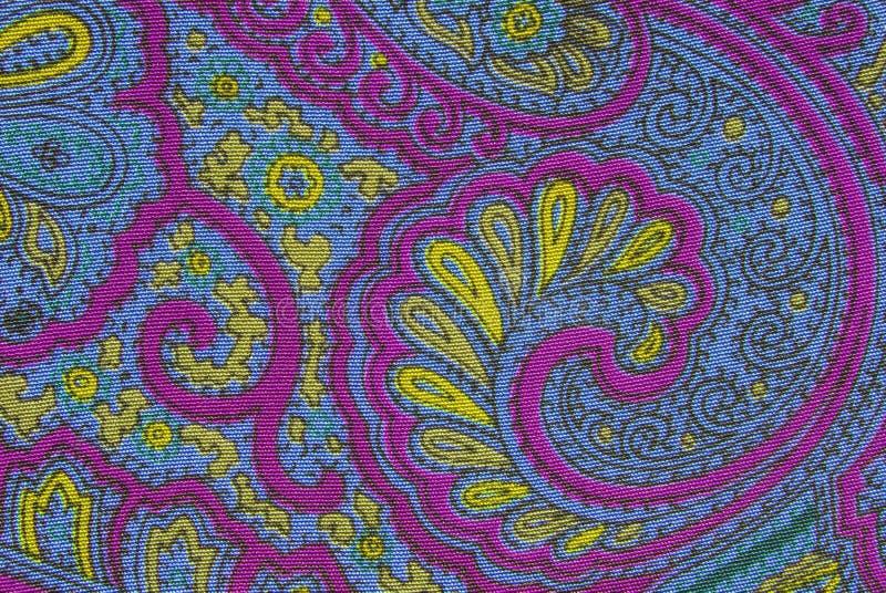 花卉装饰织品纹理 库存图片