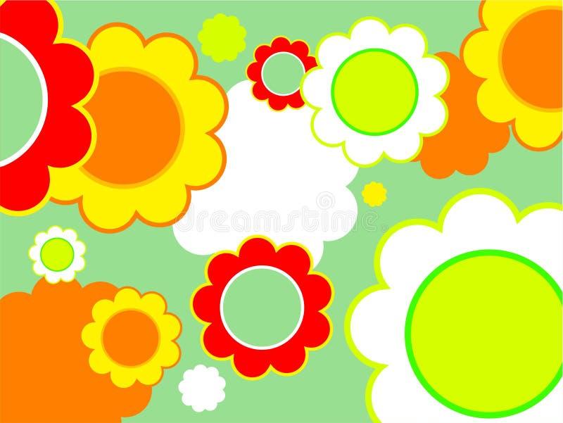 花卉设计 库存例证