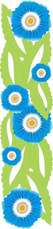 花卉边界 库存照片