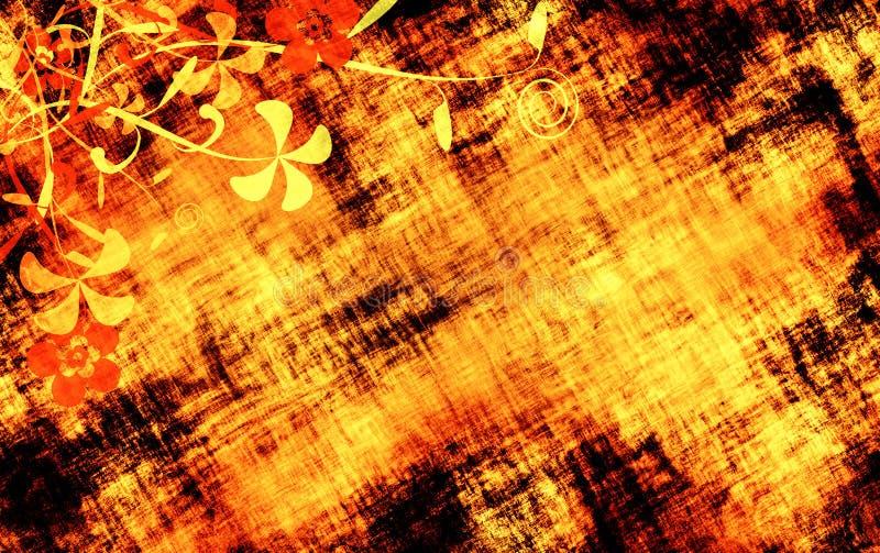 花卉难看的东西纹理 图库摄影