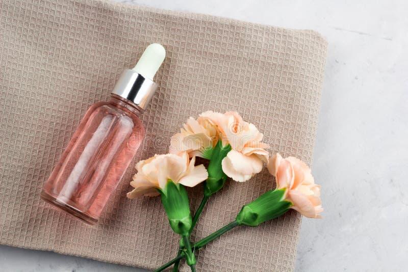 花和芳香油 库存图片