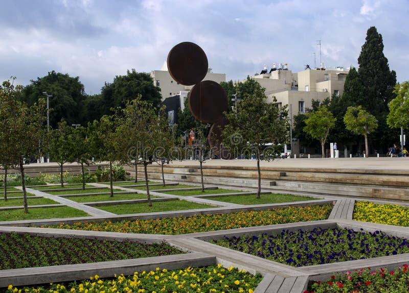 花园文化宫殿外 图库摄影