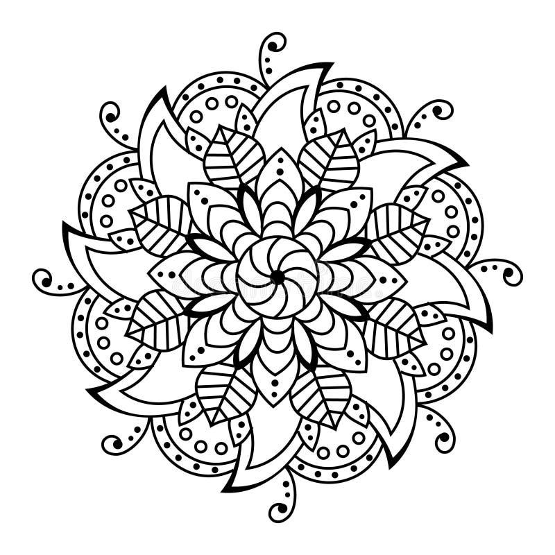 花坛场 装饰要素 彩图页 向量例证