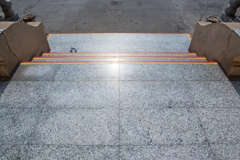 花岗岩台阶步背景 库存图片